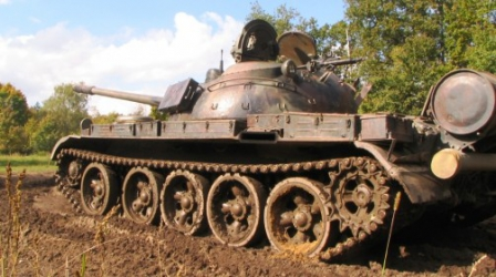 Jazda Czołgiem za sterami T-55 Merida
