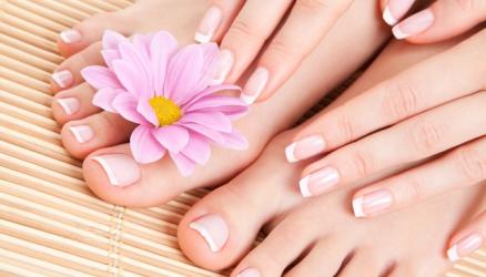 Zabieg manicure i pedicure