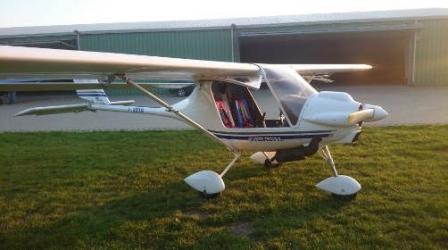 Lot Ultralekkim Samolotem Storch