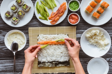 Kurs Przygotowania Sushi - Warszawa