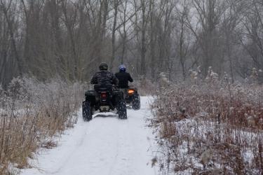 Wyprawa Śnieżnymi Quadami (dla 2 Osób)