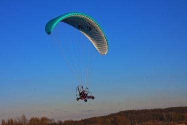 Lot Motoparalotnią dla Dwóch Osób