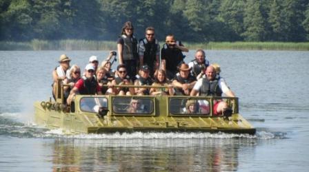 Pływanie Samobieżnym Promem Gąsienicowym GSP-55 (do 10 Osób)