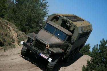 Przejażdżka Ural 375 D