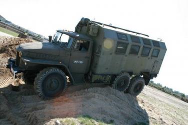 Jazda za Sterami Ural 375 D - Borne Sulinowo