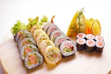 Uczta sushi dla dwojga