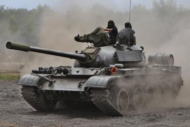 Jazda Czołgiem T-55 Merida - Warszawa