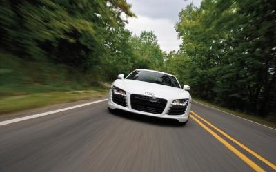 Jazda Audi R8
