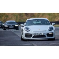 Jazda ulicami miast - Porsche Cayman S