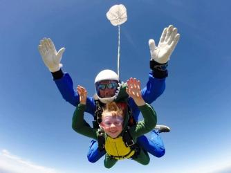 Skok ze Spadochronem w Tandemie + Filmowanie i Zdjęcia