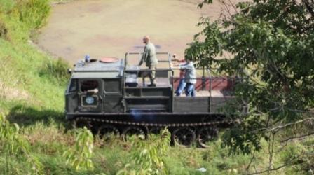 Przejażdżka Gąsienicowym Ciągnikiem Artyleryjskim ATS-59G