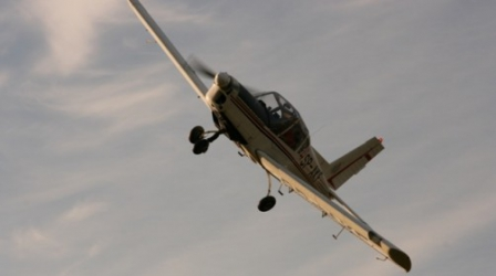 Lot Zapoznawczy Samolotem Zlin 42