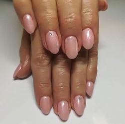 Przedłużanie Żelem z Manicure Hybrydowym