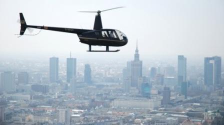 Lot Helikopterem Robinson R44 Raven dla 3 Osób - Warszawa