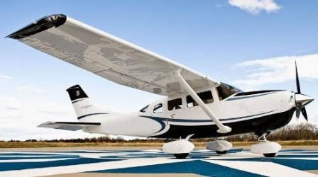 Rodzinny Lot nad Warszawą Samolotem Cessna 206