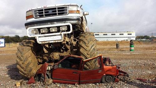 przejazdzka monster truckiem warszawa